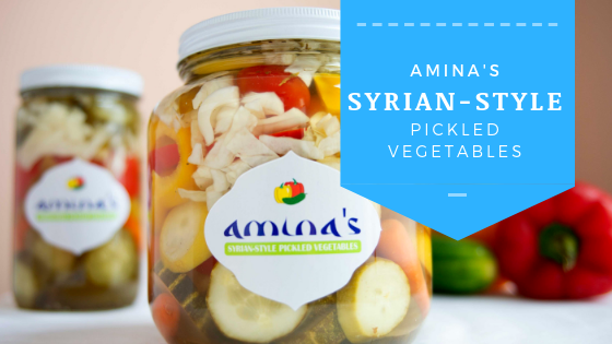 amina's syrian-style pickeld vegetables