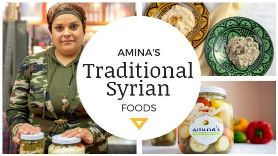 amina's foods